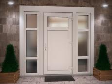 Пластиковые двери (ПВХ)